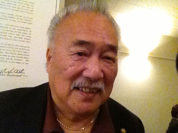 Labor Leader Larry Itliong,Filipino American Icon, Remembered By Fred Basconcillo,former national president of the Iron workers Union. (Interviewed By Emil Guillermo)